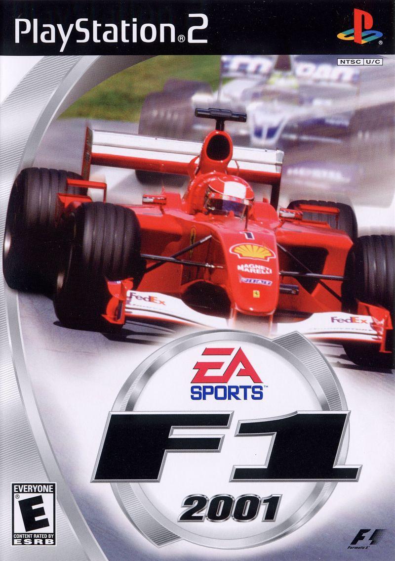 F1 2001 - PlayStation 2 Játékok