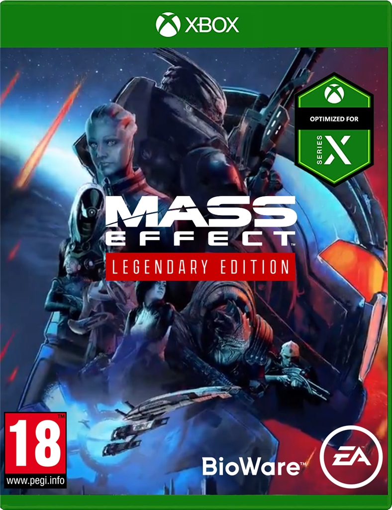 Mass Effect Legendary Edition (Xbox One kompatibilis)