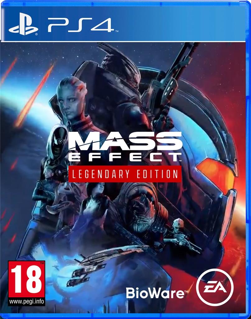 Mass Effect Legendary Edition (PS5 kompatibilis) - PlayStation 4 Játékok