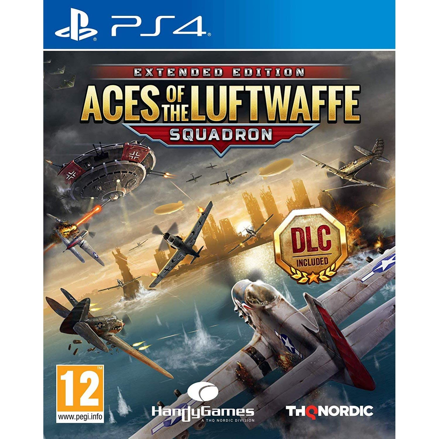 Aces of The Luftwaffe Squadron Extended Edition