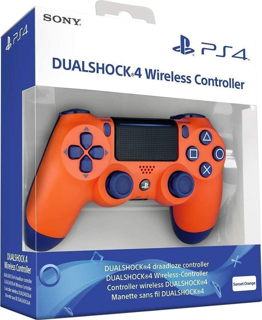 DualShock 4 V2 Wireless Controller Sunset Orange