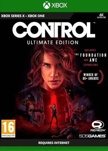Control utimate edition (Xbox One-kompatibilis)
