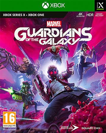 Marvels Guardians of the Galaxy (Xbox One kompatibilis) - Xbox Series X Játékok
