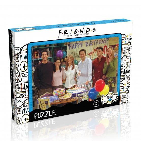 Friends Happy Birthday puzzle (1000db)