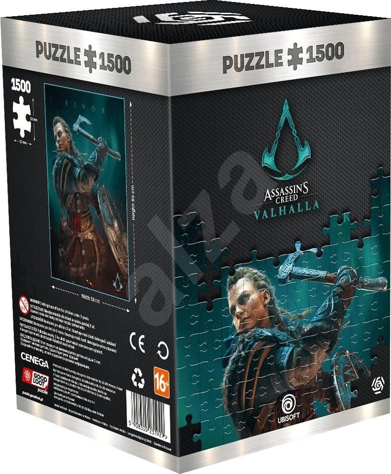 Assassins Creed Valhalla Eivor Female Puzzle (1500db)