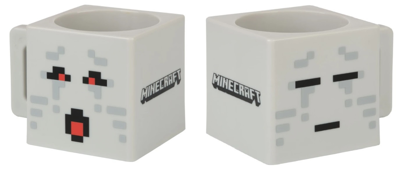 Minecraft Two Faced Ghost műanyag bögre (290ml)