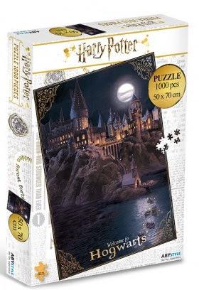 Harry Potter Hogwarts puzzle (1000db-os)
