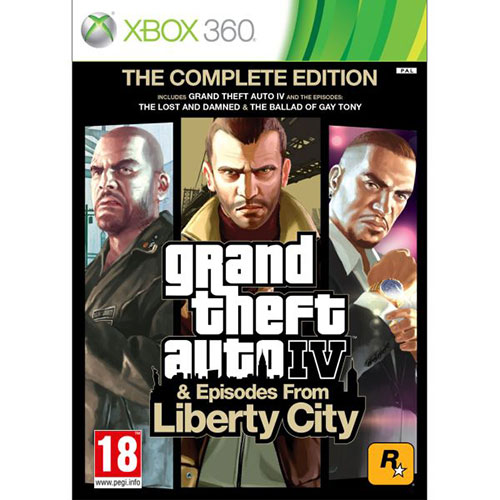 Grand Theft Auto 4 - Episodes From Liberty City - The Complete Edition - Xbox 360 Játékok