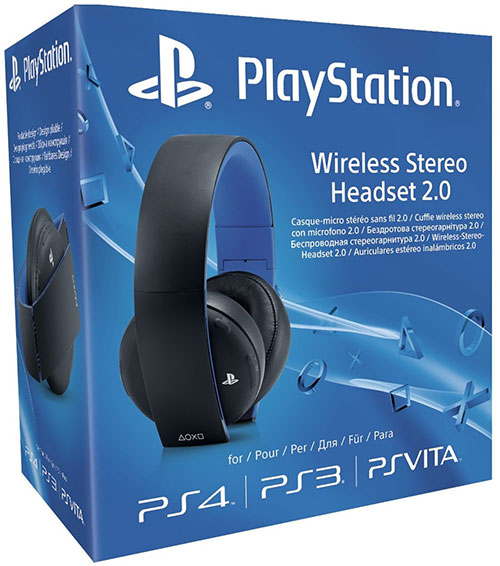 Sony Playstation 4 2.0 Wireless Surround Headset 7.1