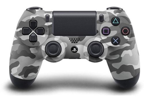 Sony DualShock 4 Wireless Controller (Grey Camouflage) - PlayStation 4 Kiegészítők