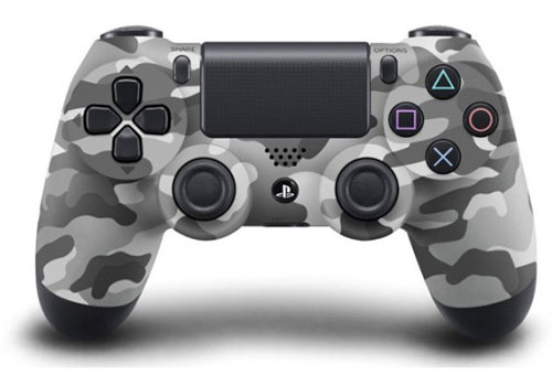 Sony DualShock 4 Wireless Controller (Grey Urban Camouflage)
