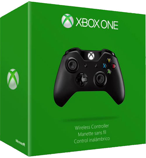Microsoft Xbox One Wireless Controller  (Fat Fekete)