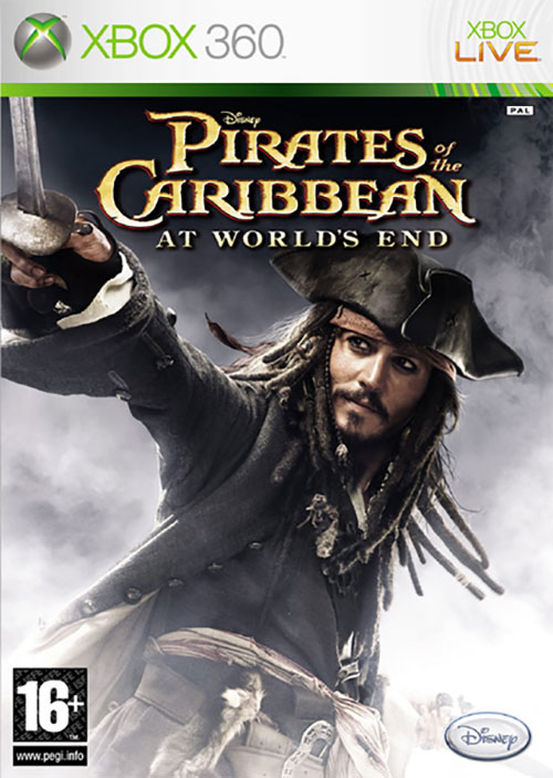 Disney Pirates Of The Caribbean - At The Worlds End