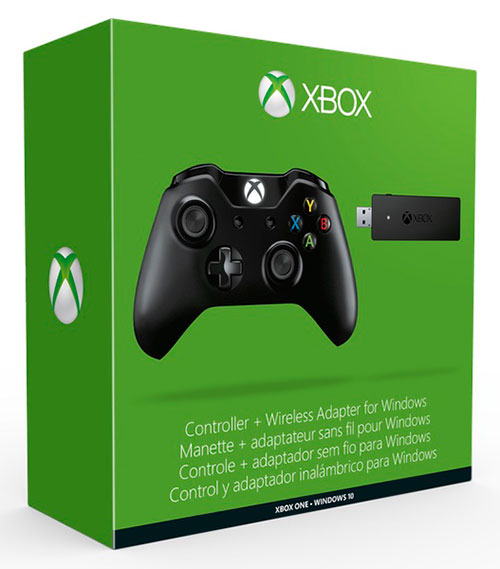 Microsof Xbox One Wireless Controller plusz Wireless Receiver (adóvevő)