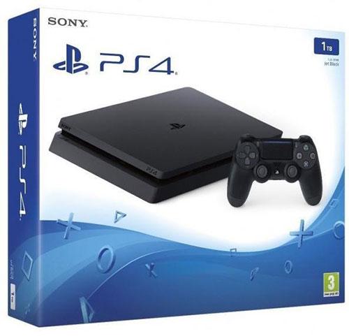 Sony Playstation 4 Slim 1TB Fekete