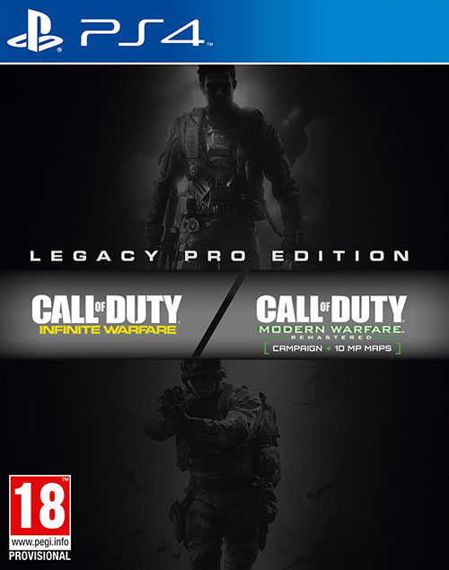 Call of Duty Infinite Warfare Legacy Pro Edition PS4 - PlayStation 4 Játékok