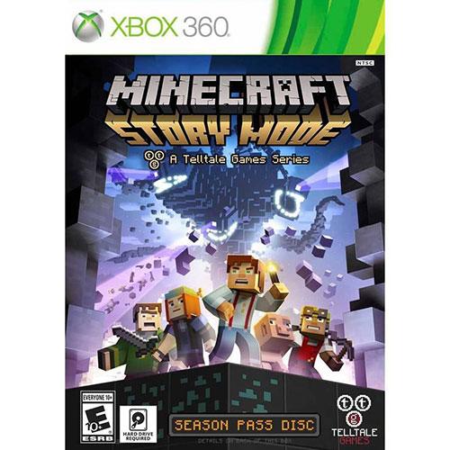 Minecraft Story Mode Xbox 360 - Xbox 360 Játékok