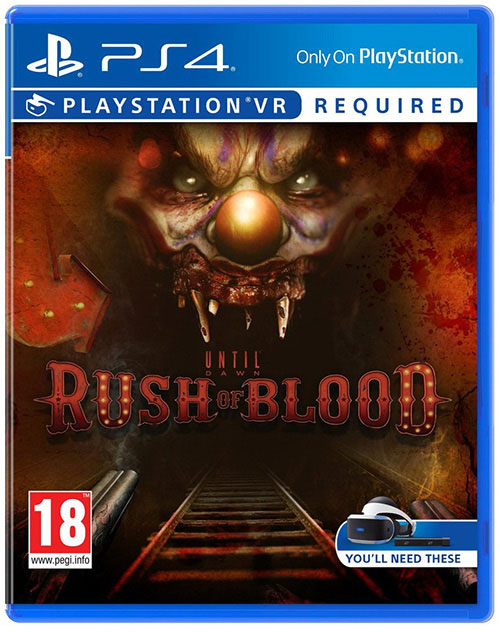 Until Dawn Rush Of Blood PSVR