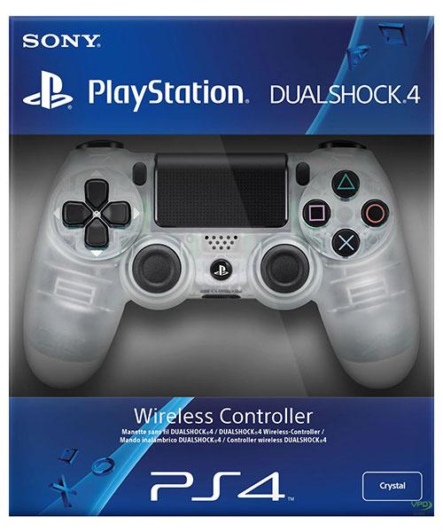 Sony Playstation 4 Dualshock 4 Wireless Controller Crystal