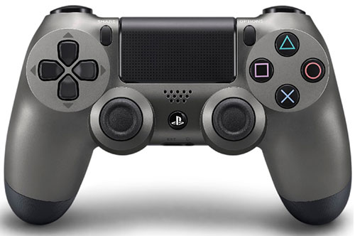 Sony Playstation 4 Dualshock 4 Wireless Controller Steel Black
