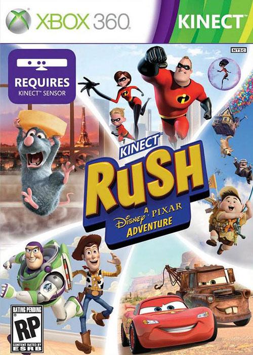 Kinect Rush  A Disney Pixar Adventure