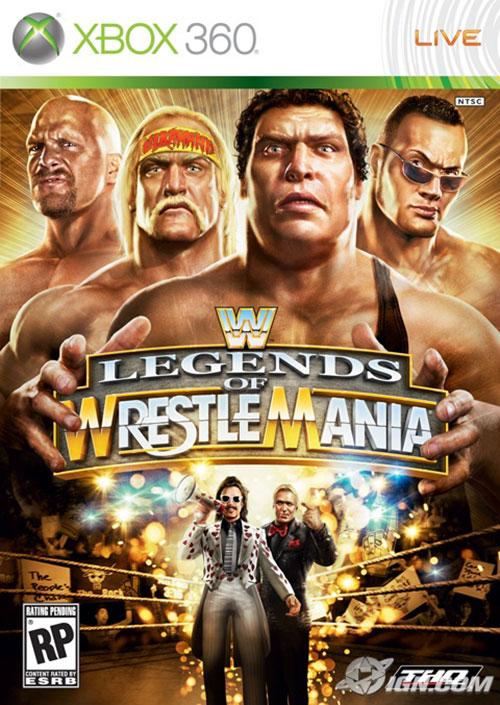 WWE Legends Of WrestleMania