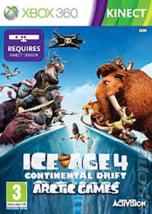 Ice Age 4 Continental Drift Whith Kinect