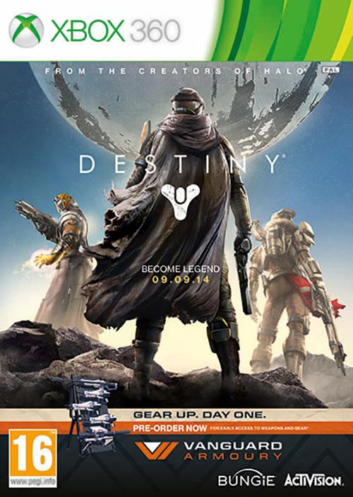 Destiny Vangard Edition
