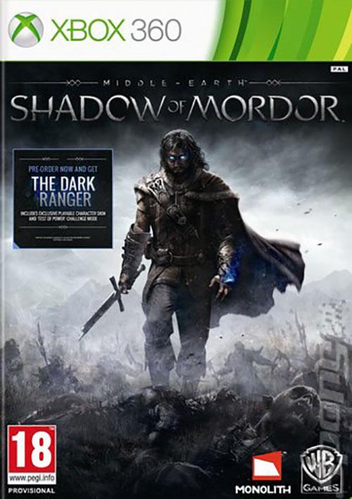 Middle Earth Shadow of Mordor - Xbox 360 Játékok