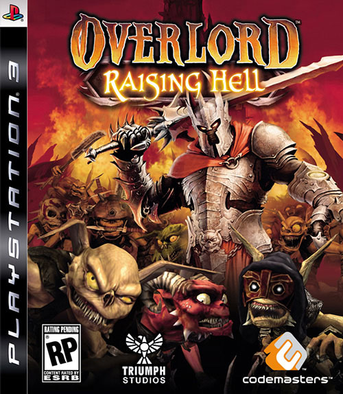 Overlord - Raising Hell - PlayStation 3 Játékok