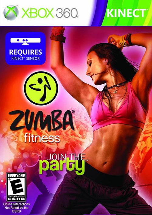 Zumba Fitness Join The Party - Xbox 360 Játékok