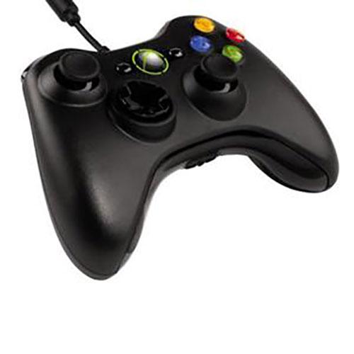 Microsoft Xbox 360 Controller Vezetékes (Fekete)