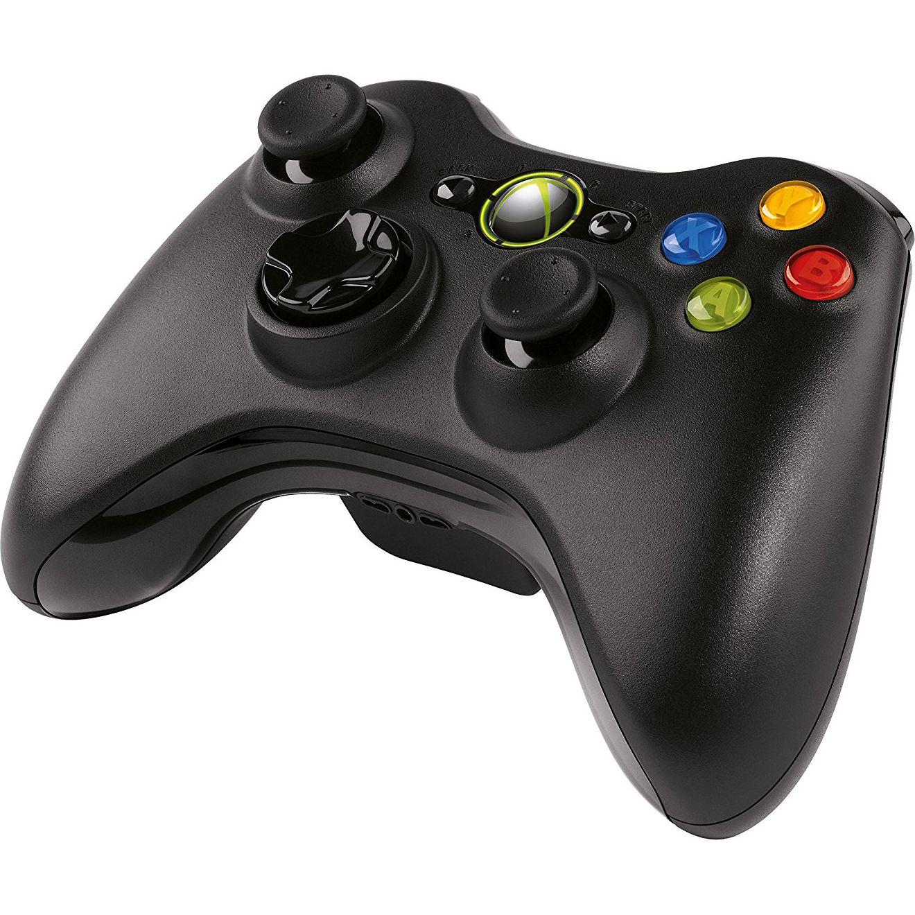 Microsoft Xbox 360 Wireless Controller (Fekete)