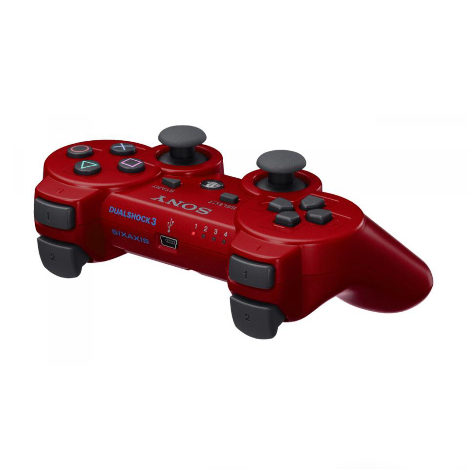 PS3 Dualshock 3 Wireless Controller Piros
