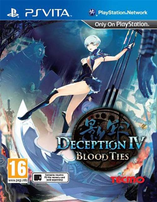 Deception IV Blood Ties PS Vita
