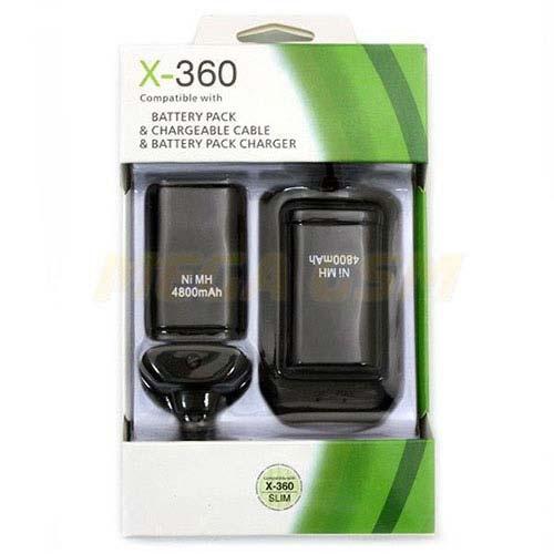 Xbox 360 Play and Charge Kit 4800mAh
