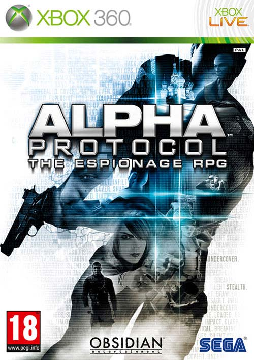 Alpha Protocol - Xbox 360 Játékok