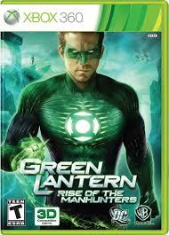 Green Lantern Rise of the Manhunters - Xbox 360 Játékok