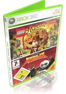 Lego Indiana Jones & Kung Fu Panda Double Pack